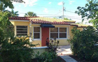 West Palm Beach Single Family Home For Sale: 439 28th Street