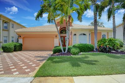 Lake Worth Single Family Home For Sale: 6447 Marbletree Lane