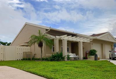 Boynton Beach Single Family Home For Sale: 11 Kerry Place