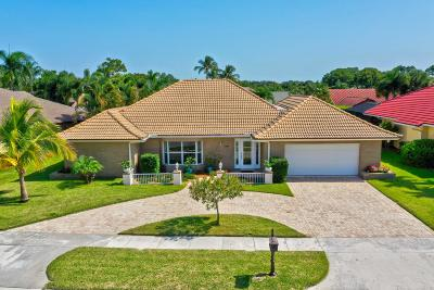Palm Beach Gardens Single Family Home Contingent: 2855 Biarritz Drive
