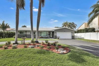 Pompano Beach Single Family Home For Sale: 1071 NE 28th Ter