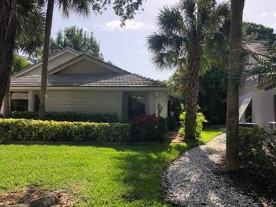 Jupiter Single Family Home For Sale: 5852 Stonewood Court
