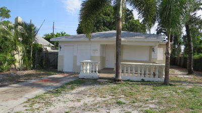 West Palm Beach Single Family Home For Sale: 611 47th Street
