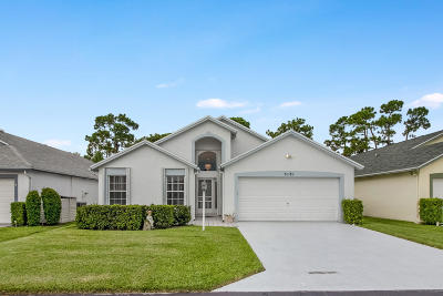 West Palm Beach Single Family Home For Sale: 5181 Robino Circle