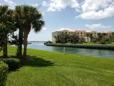 Fort Pierce Condo For Sale: 6 Harbour Isle Drive E #101
