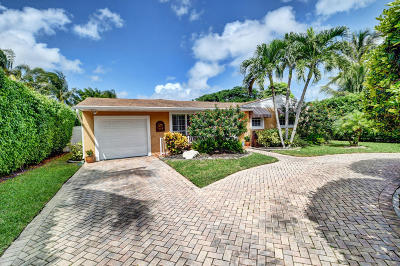 Delray Beach Single Family Home For Sale: 107 NW 17th Street