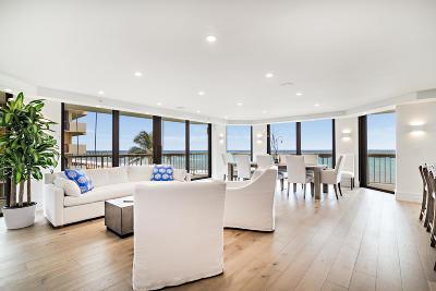 Palm Beach Condo For Sale: 3170 S Ocean Boulevard #403-N