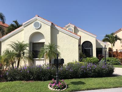 Palm Beach Gardens Single Family Home Contingent: 13282 Saint Tropez Circle