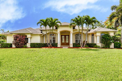 Jupiter Single Family Home For Sale: 17692 Brian Way