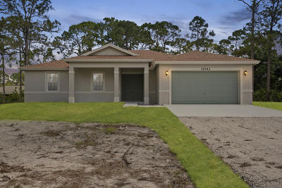 West Palm Beach Single Family Home Contingent: 12165 78th Place
