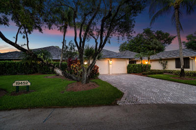 Boca West Single Family Home For Sale: 19452 Waters Reach Lane #304