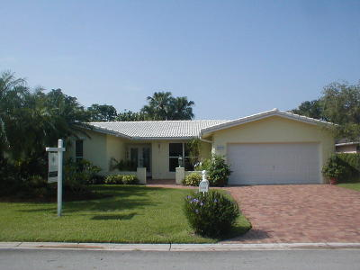 Coral Springs Single Family Home For Sale: 8422 NW 7th Street