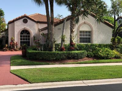 Boca Pointe Single Family Home For Sale: 7295 Via Palomar