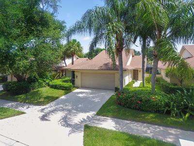 Jupiter Single Family Home For Sale: 183 Harbourside Circle