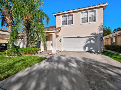 Lake Worth Single Family Home Contingent: 6804 Hendry Drive