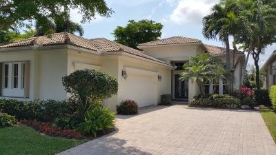 Palm Beach Gardens Single Family Home For Sale: 138 Orchid Cay Circle