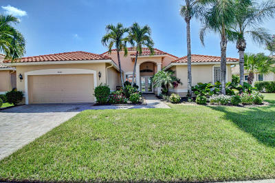 Boynton Beach Single Family Home For Sale: 8960 Diamonte Drive