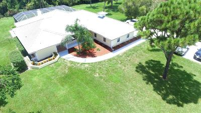Palm City Single Family Home Contingent: 4066 SW Bimini Circle S