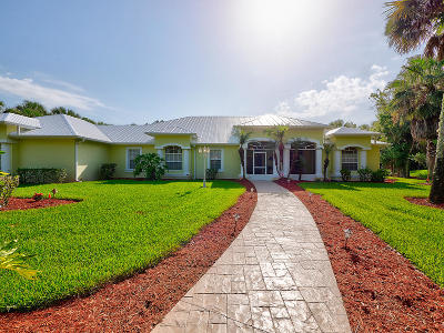 Fort Pierce Single Family Home For Sale: 4240 McCarty Road