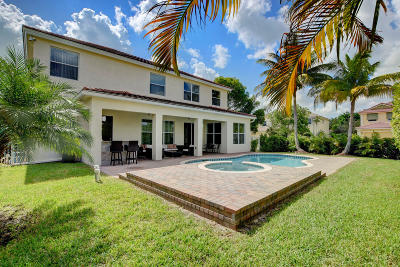 Royal Palm Beach Single Family Home Contingent: 9065 New Hope Court