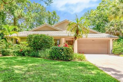 Jupiter Single Family Home For Sale: 5741 Sugarwood Court