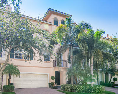 Palm Beach Gardens Townhouse For Sale: 2466 San Pietro Circle