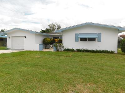 Fort Pierce Single Family Home For Sale: 604 Beach Avenue