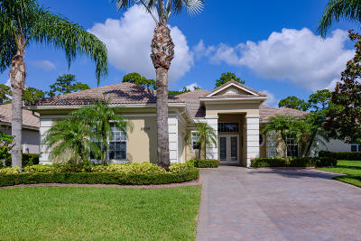 Port Saint Lucie Single Family Home For Sale: 8625 Tompson Point Road