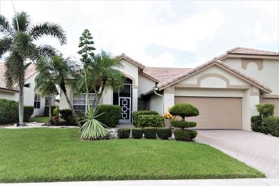 Boynton Beach Single Family Home For Sale: 7195 Ashford Lane