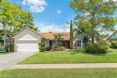 Wellington Single Family Home For Sale: 13908 Geranium Place