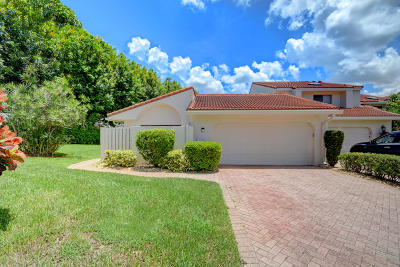 Boca West Single Family Home For Sale: 7400 Bondsberry Court