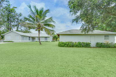 Loxahatchee Groves Single Family Home For Sale: 3929 147th Avenue