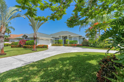 Palm City Single Family Home Contingent: 2011 SW Oak Ridge Road