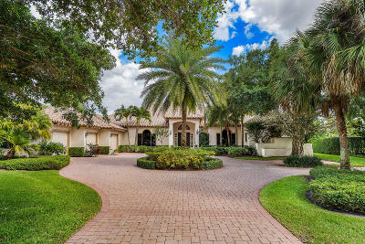 Palm Beach Gardens Single Family Home For Sale: 5663 High Flyer Road S