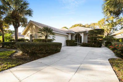 Palm Beach Gardens Single Family Home For Sale: 201 E Tall Oaks Circle
