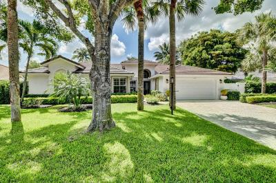 Delray Beach Single Family Home For Sale: 2900 E Hampton Circle