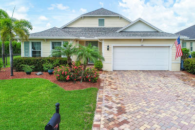 Palm City Single Family Home Contingent: 612 SW Sun Circle