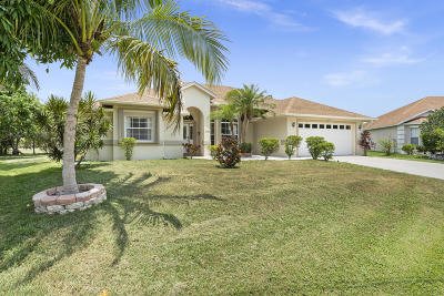 Port Saint Lucie Single Family Home Contingent: 6743 NW Daffodil Lane