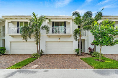 Palm Beach Gardens Townhouse For Sale: 1060 Piccadilly Street