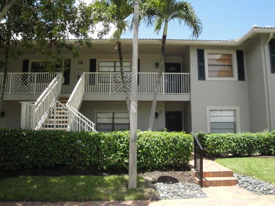 Boynton Beach Condo For Sale: 18 Stratford Drive #D