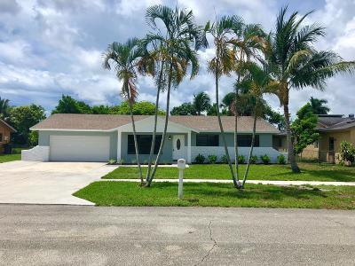 Delray Beach Single Family Home For Sale: 2986 Cortez Lane