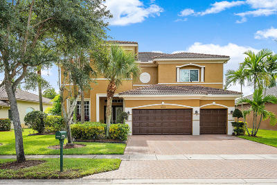 Lake Worth Single Family Home For Sale: 10626 Oak Meadow Lane