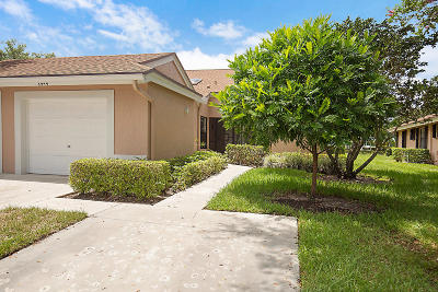 Boca Raton Single Family Home Contingent: 8444 Park Gate Road
