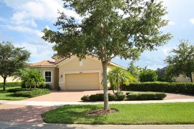 St Lucie County Single Family Home For Sale: 9633 SW Nuova Way
