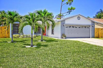Jupiter Single Family Home For Sale: 6245 Mullin Street