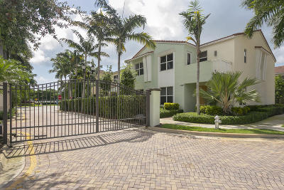 Boca Raton Townhouse For Sale: 1439 NW 48th Drive