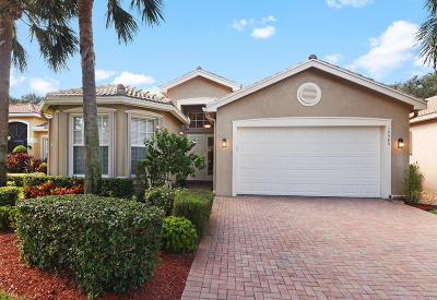 Boynton Beach Single Family Home For Sale: 10585 Richfield Way