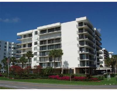 Palm Beach Rental For Rent: 3460 S Ocean Boulevard #608