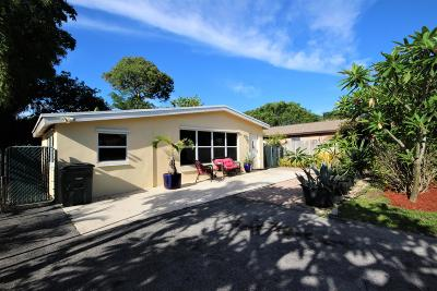 Boca Raton Single Family Home Contingent: 326 Manchester Street