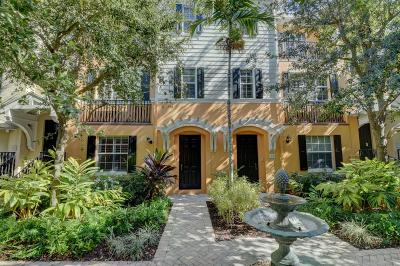 Delray Beach Townhouse For Sale: 366 E Mallory Circle